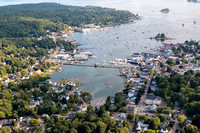 Aerial photographs of Maine